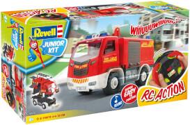 REVELL Junior Kit RC Fire Truck 1:20
