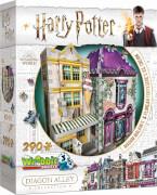 3D-Puzzle Harry Potter Madam Malkins Anzüge & Florean Fortescues Eissalon 290 Teile