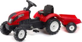 FALK Tret-Traktor mit Hänger rot 2 - 5 Jahre