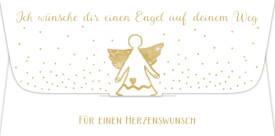Kuvert f. Geld-/Gutscheingeschenk  ... Engel auf deinem Weg
